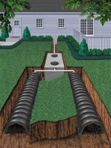 tanque septico y drenaje